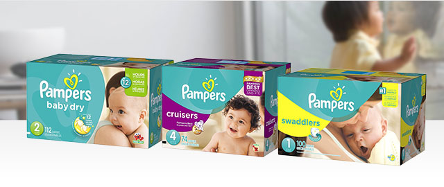 Buy 2: Pampers Diapers Boxes coupon