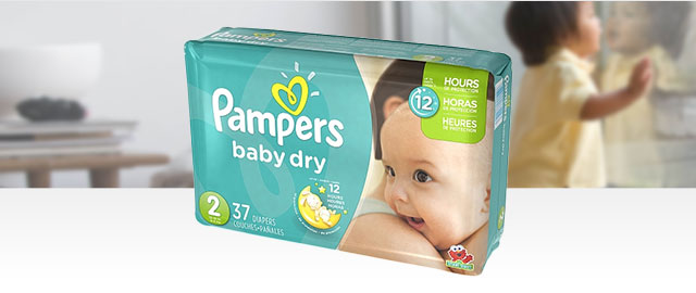 Pampers Baby Dry coupon