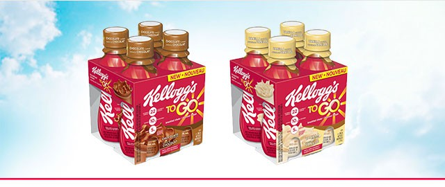 Kellogg's To Go* Breakfast Shakes coupon