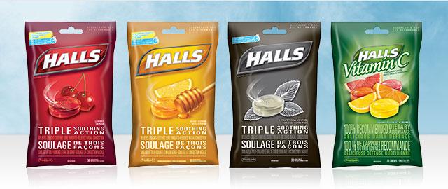 Halls® Bags coupon