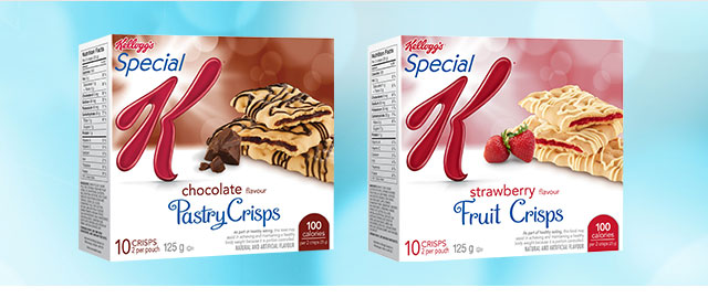 Offer Blitz! Special K* Pastry Crisps  coupon