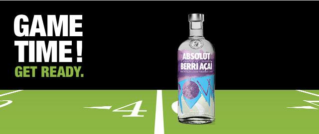 Absolut® Berri Açai Vodka* coupon