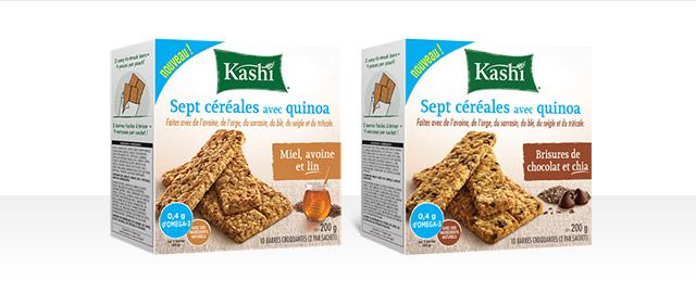Barres collations Kashi*  coupon