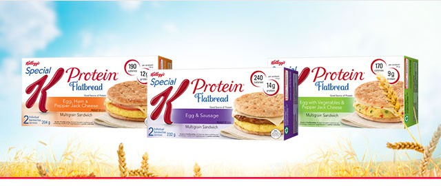 Buy 2: Special K* Flatbread Morning Sandwich coupon