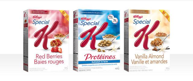 Céréales Special K* coupon