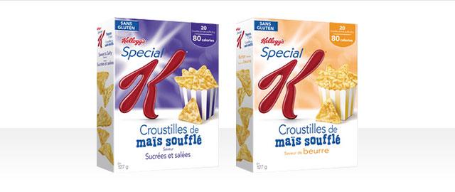 Croustilles de maïs soufflé Special K* coupon