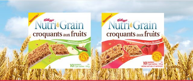 Achetez 2: Barres Nutri-Grain Croquants* aux fruits coupon