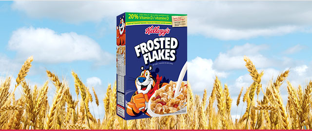 Buy 2: Kellogg's* Frosted Flakes* cereal coupon
