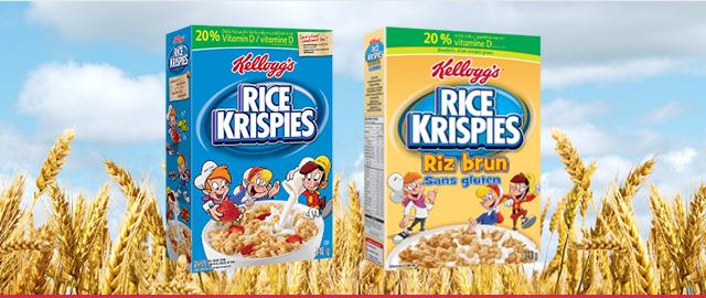 Achetez 2: Céréales Rice Krispies* coupon