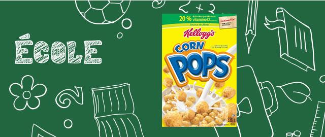 Achetez 2: Céréales Kellogg's* Corn Pops* coupon