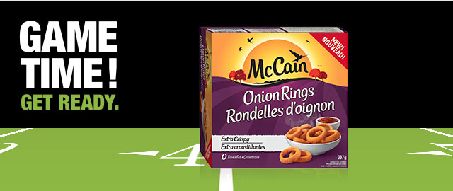 OFFER BLITZ! McCain® Onion Rings coupon