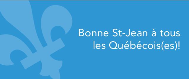 Bonne St-Jean à tous les Québécois(es)! coupon