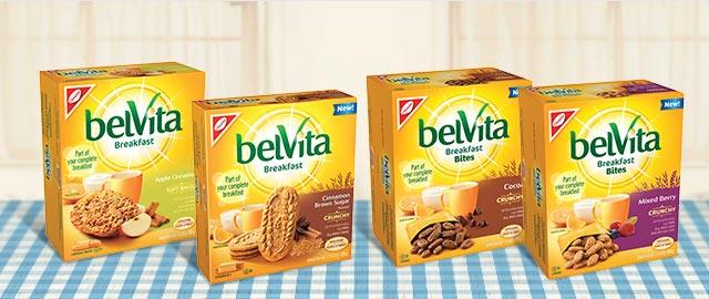 Les biscuits petit-déjeuner belVita coupon