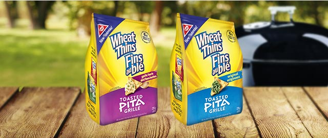 WHEAT THINS Toasted Pita Crackers coupon
