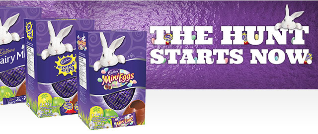 CADBURY Hollow Egg gifts coupon
