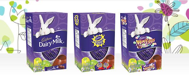 CADBURY Hollow Egg gifts coupon