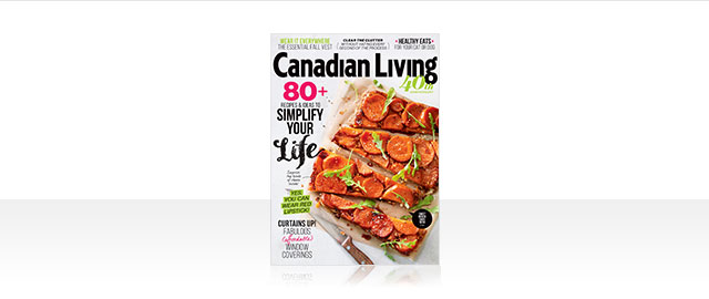Canadian Living Newsstand Issues coupon