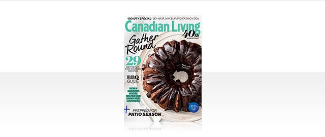 Canadian Living Édition de Kiosque coupon