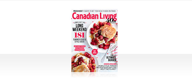 Canadian Living Édition de Kiosque coupon