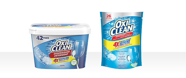 OxiClean™ Dishwasher Detergent coupon