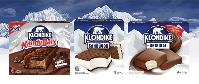 Klondike® Frozen Treats coupon