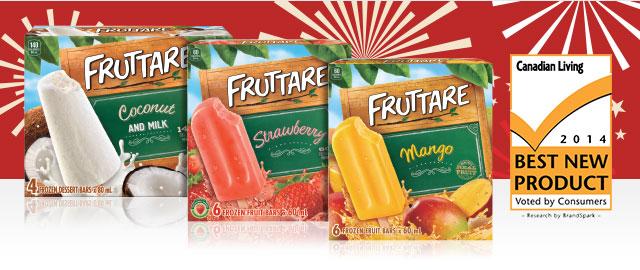 Fruttare® Frozen Fruit Bars coupon