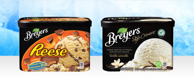 Crème glacée Breyers® coupon