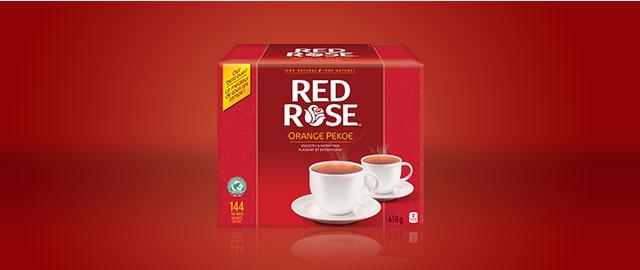 Red Rose® tea coupon