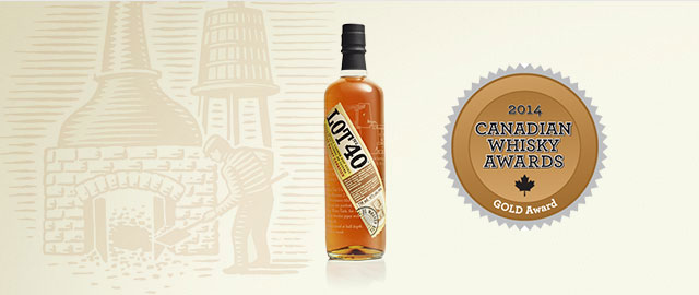 Lot No. 40® Canadian Whisky* coupon