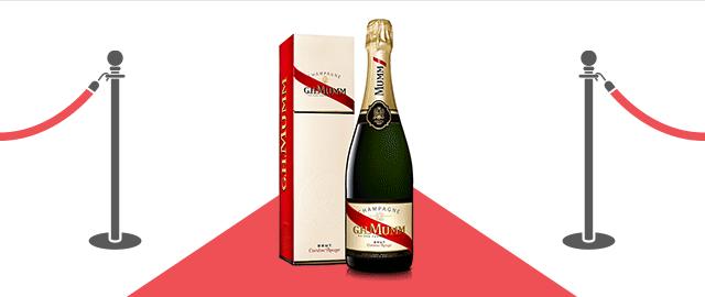 G.H. Mumm Cordon Rouge Brut Champagne coupon