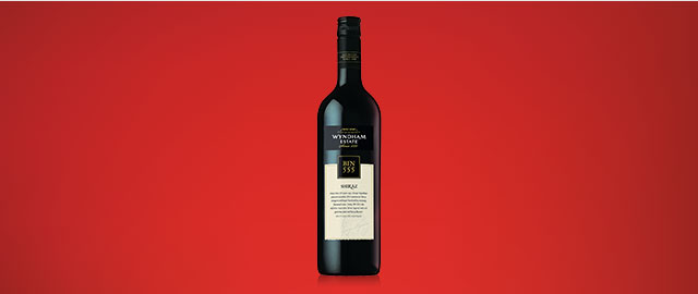 Wyndham Estate Bin 555 Shiraz* coupon