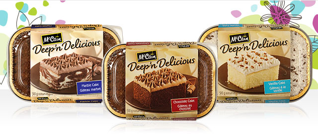 UNLOCKED! McCain® Deep'n Delicious® Desserts  coupon