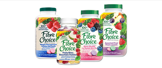 Fibre Choice™ Chewable Tablets & Gummies coupon
