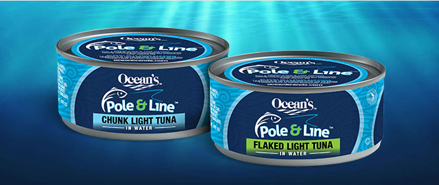 Buy 2: Ocean's Pole & Line Tuna coupon