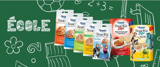 Achetez 2: SnacKit et SnacKit Dips de Ocean's  coupon