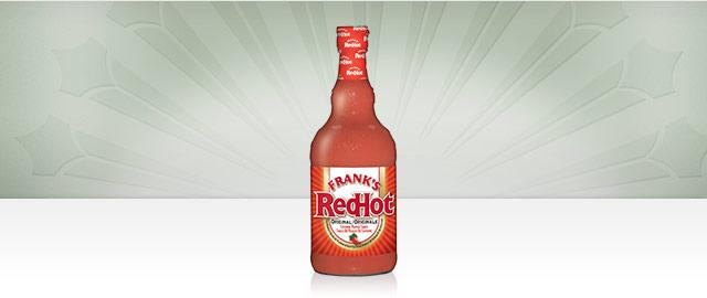 Sauce au piment de Cayenne FRANK'S REDHOTMD Originale coupon