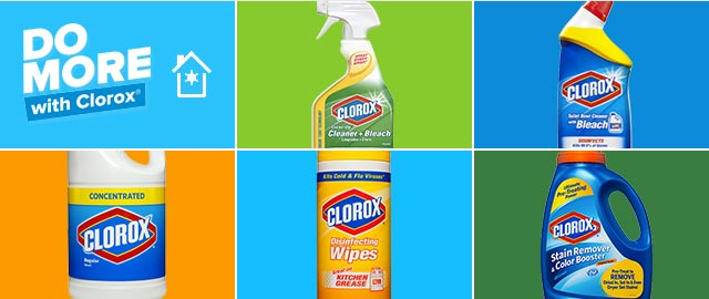 Clorox® Clean Home Challenge coupon
