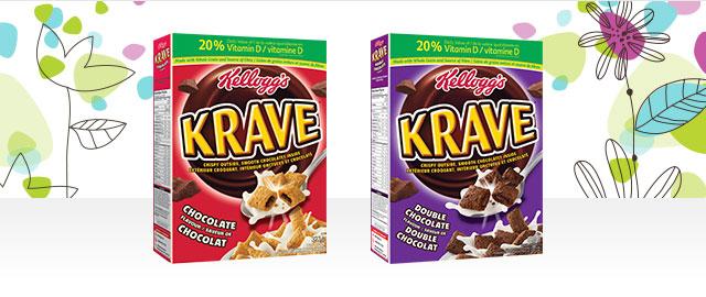 Kellogg's Krave™ Cereal coupon