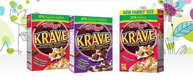 Unlocked! Kellogg's Krave™ Cereal coupon