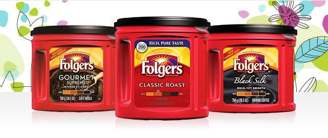 Unlocked! Select Folgers® Ground Coffee coupon