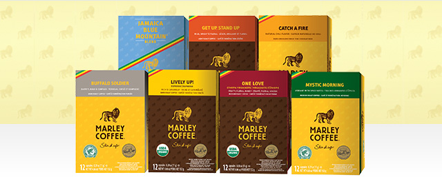 Marley Coffee Single Serve Cups coupon