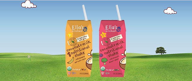 At Target: Ella's Kitchen® Nutritional Shakes coupon