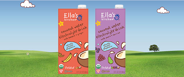 At Target: Ella's Kitchen® Coconut Water coupon