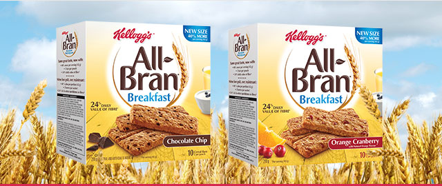 All-Bran* Breakfast bars coupon