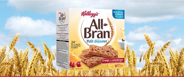 Barres pour petit déjeuner All-Bran* coupon