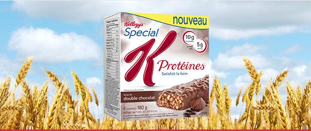 Barres Special K* Protéines coupon