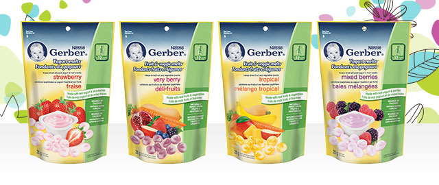 Buy 2: Nestlé Gerber® Melts™ coupon