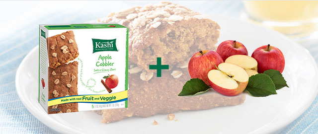Combo: Kashi® snack bars + Apples coupon