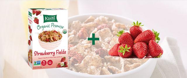 Combo: Kashi® cereal + Strawberries coupon