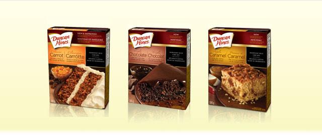 Duncan Hines cake mix coupon